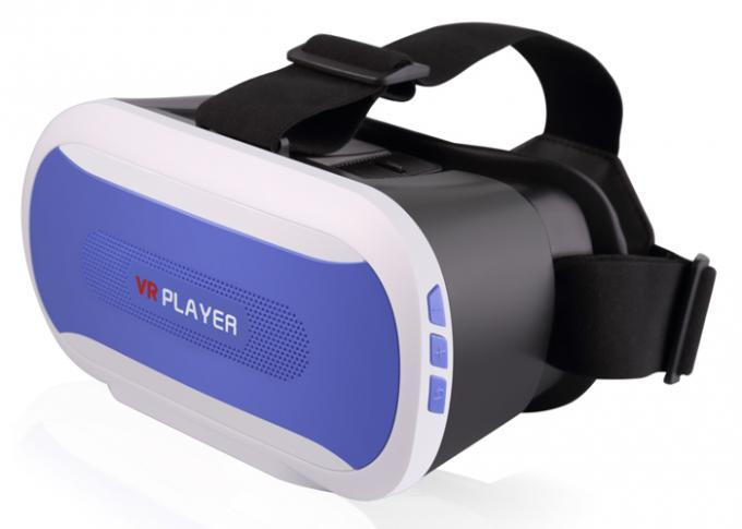 1089P 3D Virtual Reality Glasses , VR / Virtual Reality 3d Glasses Multi Language Suppport