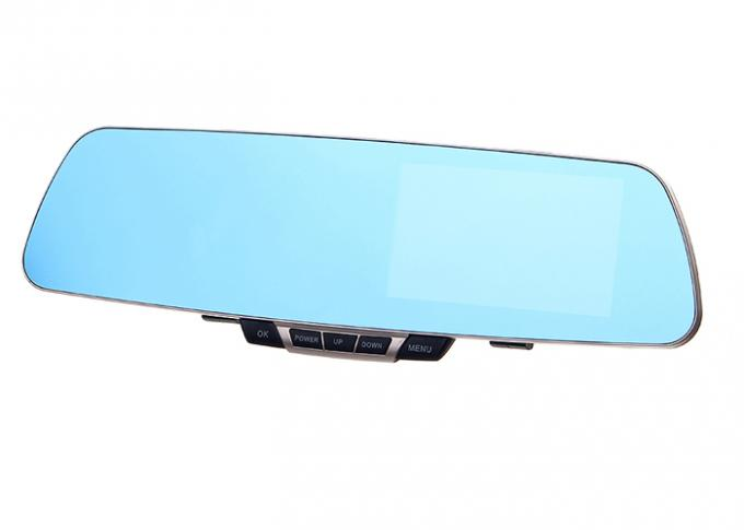 "4.3""  Car Data Recorder CMOS Contact Lens Screen In Car Video Record"