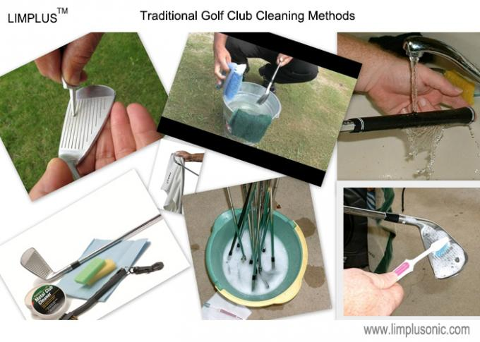 49L Ultrasonic Golf Club Cleaning Machine , Electric Golf Club Cleaner With Coins Unit