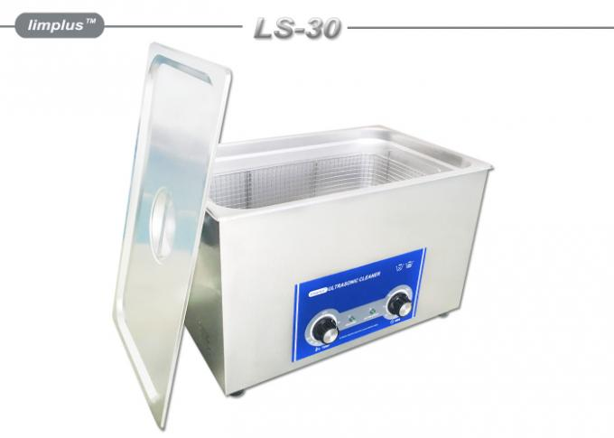 30L SUS Super Sonic Cleaner , Digital Heated Ultrasonic Cleaner Medical Instruments