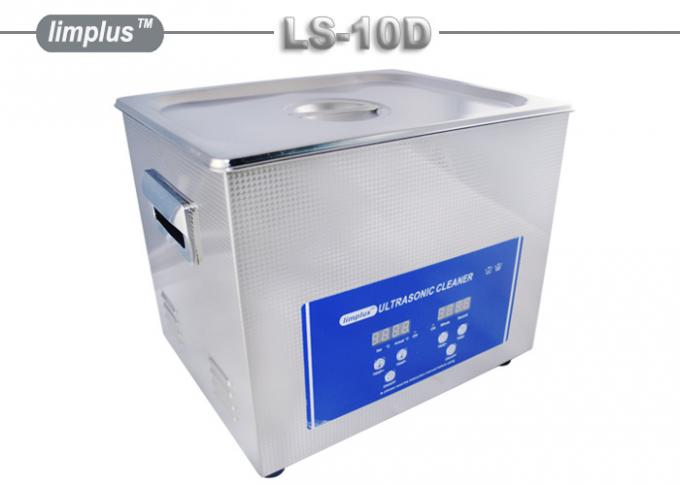 240W stainless steel ultrasonic cleaner For Shooting Gun Firearms