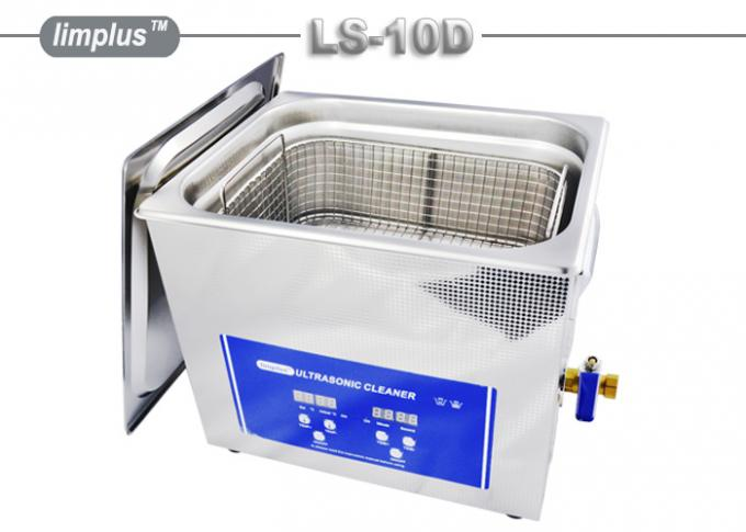 Limplus Table Top professional ultrasonic cleaner stainless steel For Tattooist Procedures