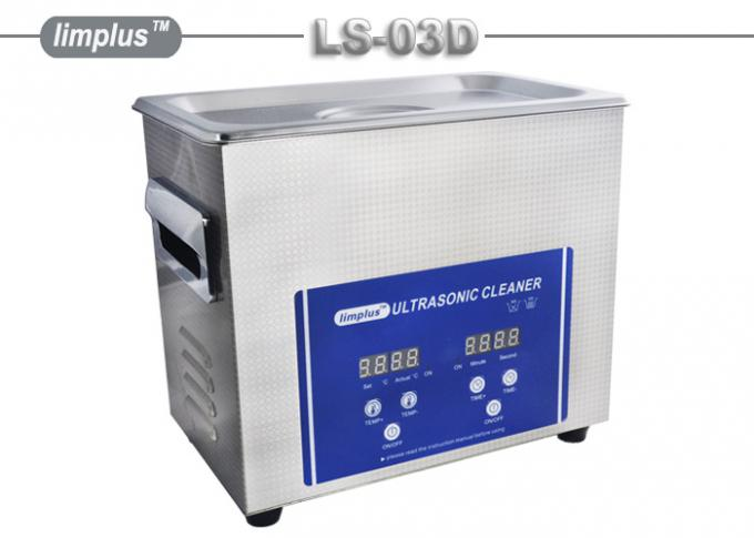 LS -03D Limplus Small Digital Table Top Ultrasonic Cleaner For Hair Combs