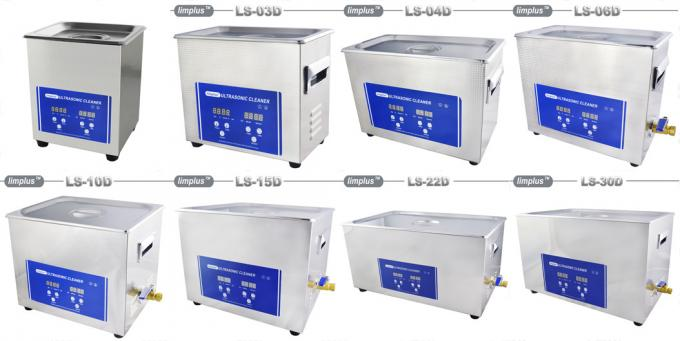 30 Liter Digital Ultrasonic Cleaner 600W For Auto Injectors Degrease , SUS304 Material