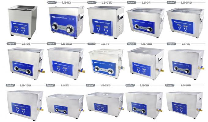 Vinyl Record Table Top Ultrasonic Cleaner 6.5 Liter 180w Ultrasonic Power 40khz
