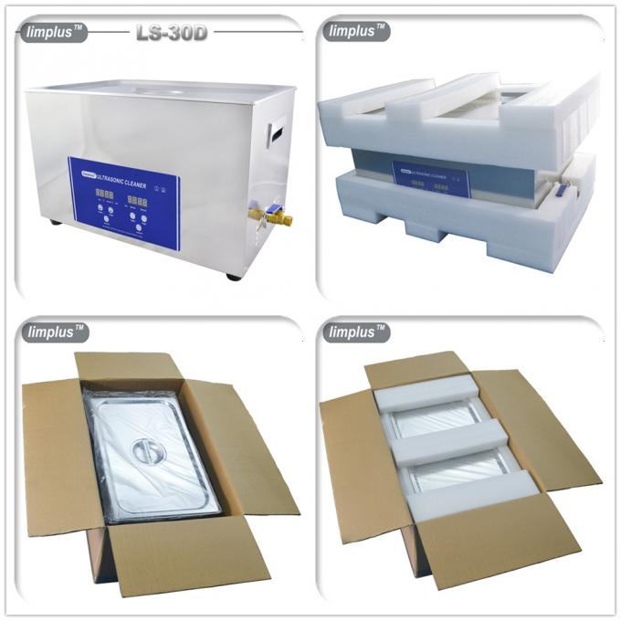 30L High Power Ultrasonic Cleaner , Portable Brass Ultrasonic Cleaner