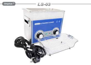 China Electronic 3 Liter Table Top Ultrasonic Cleaner For Surgical Instruments supplier