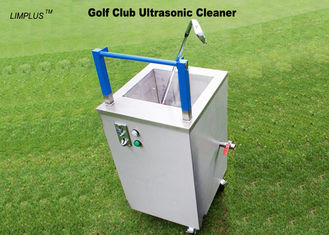 China 49L Ultrasonic Golf Ball Cleaning Machine , 40kHz Sonic Wave Ultrasonic Cleaner Easy Move And Stop supplier