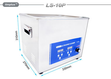China 10 Liter Digital Ultrasonic Cleaner Machine Ultrasonic Cleaning Bath supplier