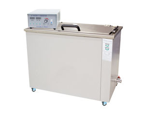 Portable Ultrasonic Cleaning Equipment , Stainless Steel Ultrasonic Cleaner For Brass