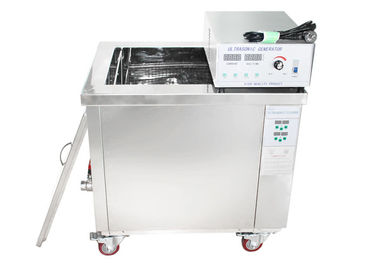 China Single Phase Industrial Ultrasonic Cleaning Equipment With Stainless Steel Basket supplier