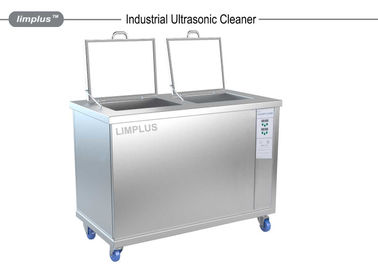 China Digital 99L Commercial Ultrasonic Cleaners , Ultrasonic Carb Cleaner With Rinsing supplier