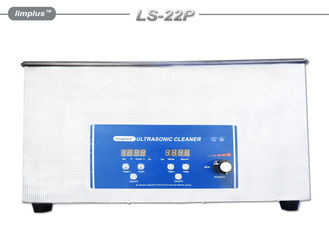 China Professional Jewelry Digital Ultrasonic Cleaner 22 Liter Ultrasonic Water Bath supplier