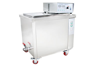 China Movable basket Auto Ultrasonic Parts Washer Fuel Injection System Cleaning supplier