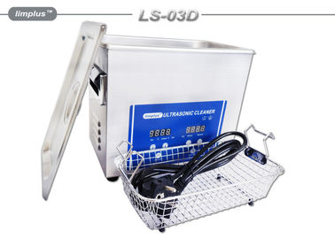 China Portable 3L Ultrasonic Cleaner Electronics Diesel Fuel Injector Cleaning supplier