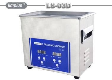 China LS -03D Limplus Small Digital Table Top Ultrasonic Cleaner For Hair Combs supplier