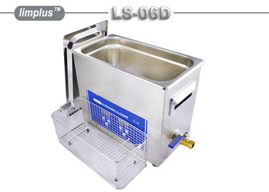 China Firearm Cartridges Ultrasonic Instrument Cleaner / 6.5 Liter Ultrasonic Cleaning Systems supplier