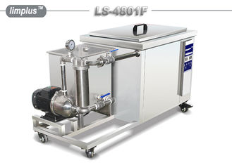 China 175 Liter 2400W Ultrasound Industrial Ultrasonic Cleaner LS -4801F With Recyle System supplier