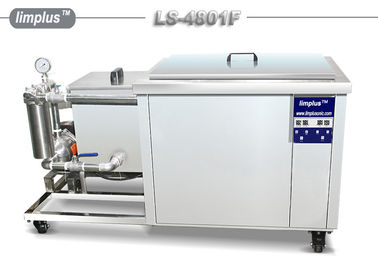 China Limplus Oil Fiteration Industrial Ultrasonic Cleaner With Water Recycle System supplier
