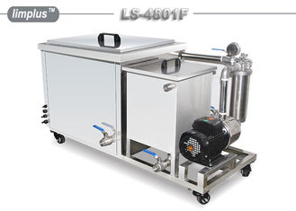 China Limplus Custom large capacity ultrasonic cleaner With Fiteration And Skimming Unit supplier