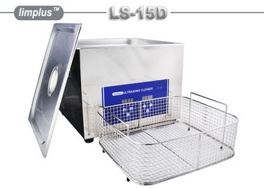 15 Liter Limplus Stainless Steel Ultrasonic Cleaner For Kitchen Heavy Oil Remove