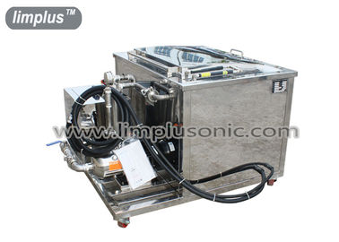 28KHz Two Tanks Automotive Ultrasonic Cleaner Machine With Oil Filter and Dryer System