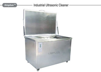 China 360L Industrial Ultrasonic Cleaner Degrease with Penumatic Lift and Oil Surface Skimmer supplier