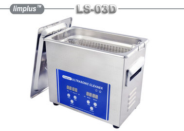 China Stainless Steel SUS304 3L Digital Ultrasonic Cleaner 240x135x100mm supplier