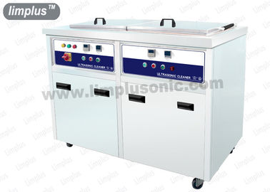 China 130 Liter 1800w Dual Slot Stainless Steel Ultrasonic Cleaner Machine Dring Tank SUS316L supplier