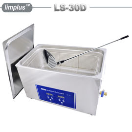 China Golf Club Grip Ultrasonic Washing Machine , Household Ultrasonic Cleaner Large Capacity 30 Liter supplier