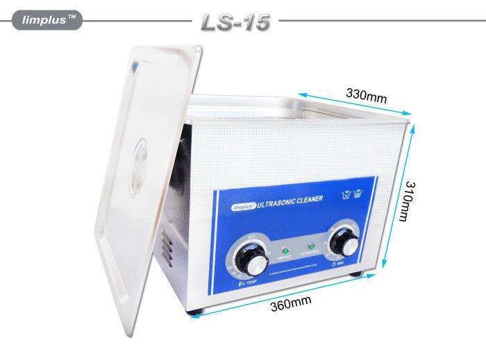 40KHZ Industrial Ultrasonic Cleaner , Heated Ultrasonic Jewelry Cleaner With Automatic Cleaning