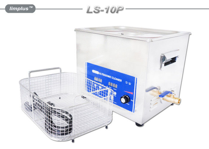40kHz Digital Professional Ultrasonic Cleaner , 10L Ultrasonic Surgical Instrument Cleaner