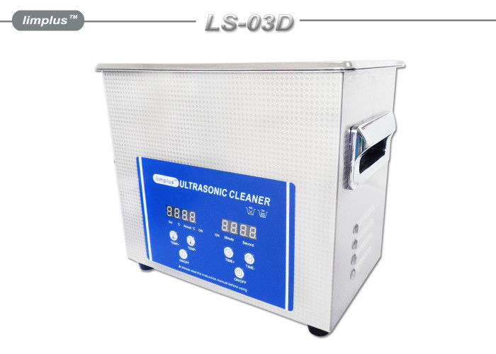 Professional Table Top Ultrasonic Cleaner for Car / Truck Fuel Filter Clean 3liter