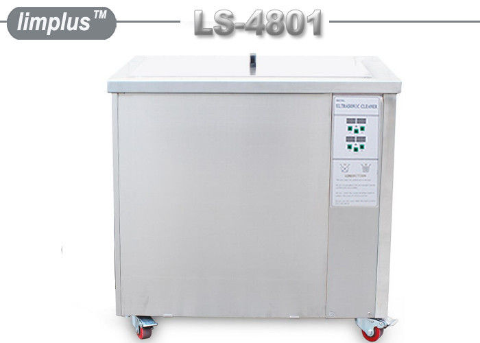 LS -4801 2400w 200 Liter Ultrasonic Cleaning Machine Carbon Particulate Filters