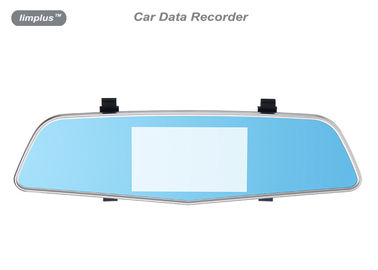 4.3 Inch HDMI Car Data Recorder With Double Camera Back Mirror