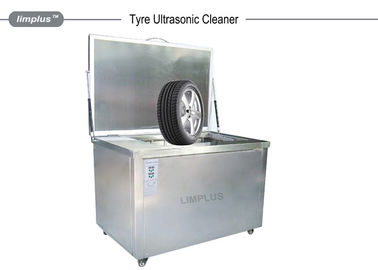 China Car Tyre / Wheel Custom Ultrasonic Cleaner with Rotation System factory