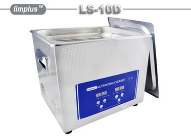 10 Liter Gun Ultrasonic Cleaning Bath / Home Sonic Jewelry Cleaner Large Capacity