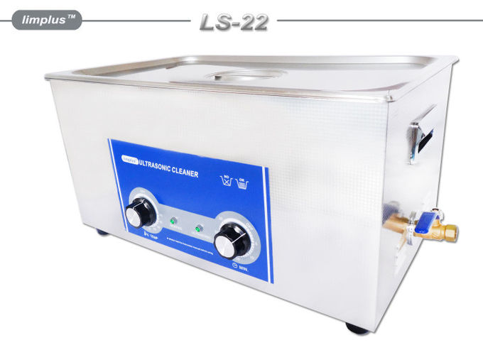 Cavitation 480w Power Sonic Wave Ultrasonic Cleaner , Diesel Oil Clean Large Capacity Ultrasonic Cleaner